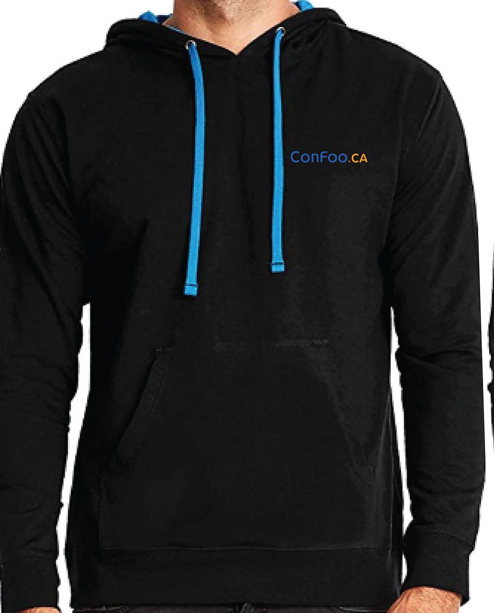 ConFoo: Be a 10X developer lightweight Hoodie